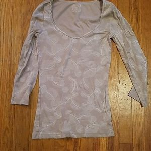 Leaf print Old Navy Shirt Small